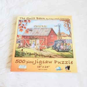 The quilt barn Jigsaw puzzle by kay lamb shannon